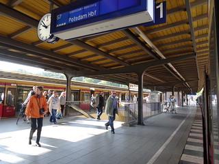 Estación de cercanías en Berlín