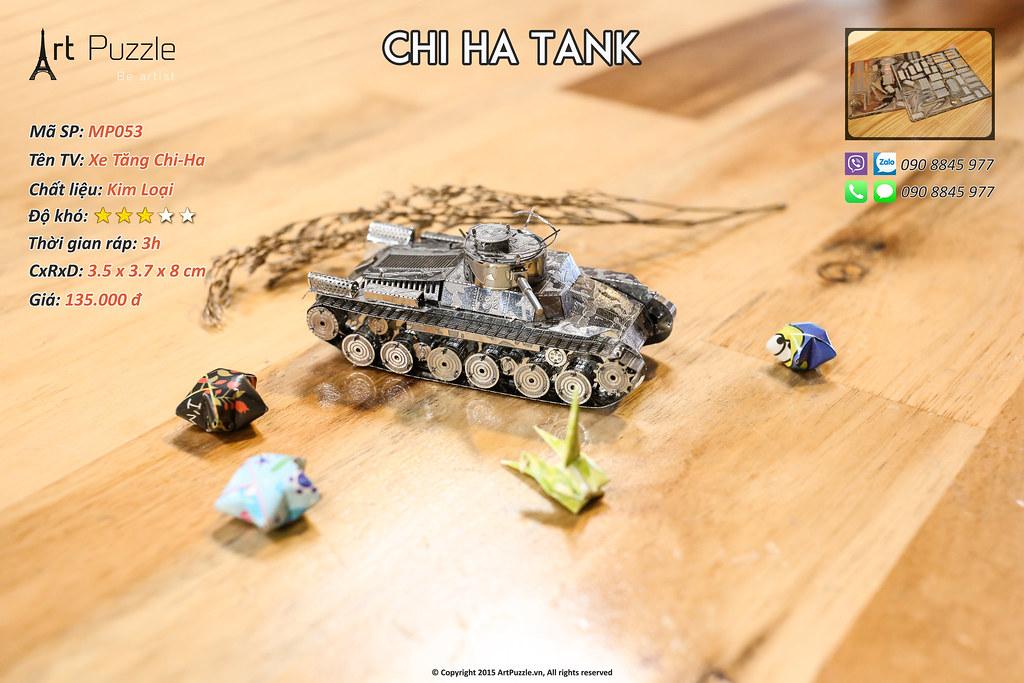 Art Puzzle - Chuyên mô hình kim loại (kiến trúc, tàu, xe tăng...) tinh tế và sắc sảo - 3