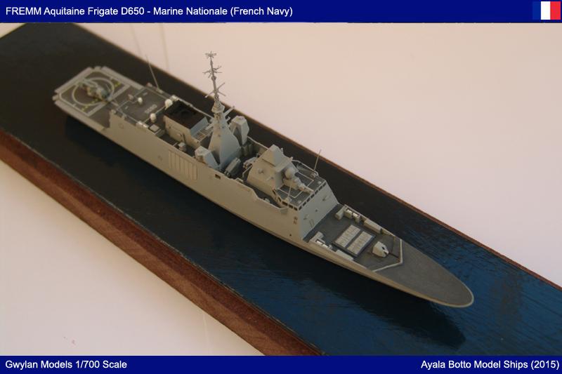 FREMM Aquitaine D650 Frégate ASM - Gwylan Models 1/700 par Ayala Botto 23024251581_32cfec5568_o