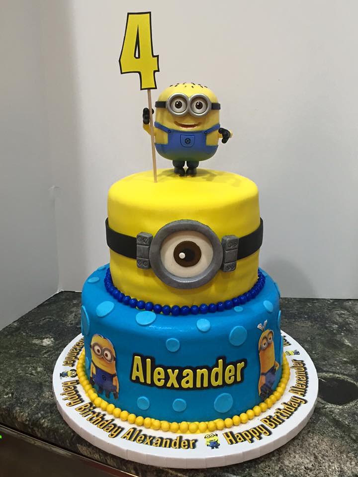 Minions And Gru Cake