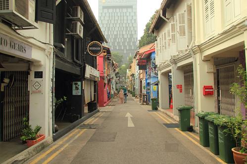 Suasana di Jalan Haji Lane