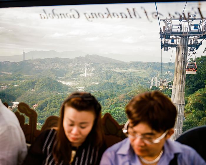 © 2016. Maokong Gondola in Wenshan District. Wednesday, Sept. 7, 2016. Ektar +2, Pentax 6x7.