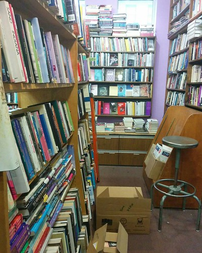 Packing up, 1 #toronto #lgbt #gladdaybookshop #yongestreet #books