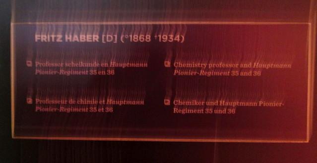 Fritz Haber Exhibit