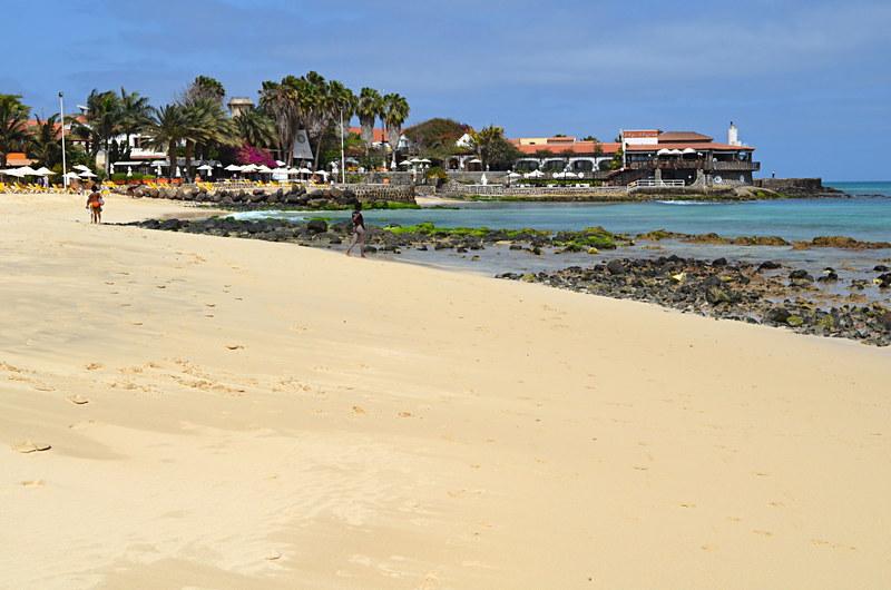 Town beach, Sal, Cape Verde