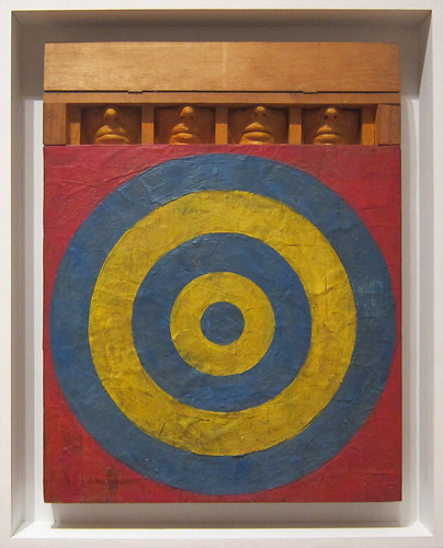Jasper Johns, Target with Four Faces, 1955, MOMA | Flickr ...