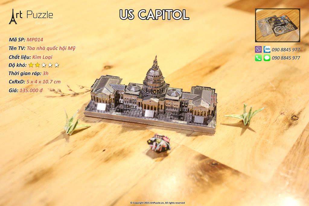 Art Puzzle - Chuyên mô hình kim loại (kiến trúc, tàu, xe tăng...) tinh tế và sắc sảo - 38