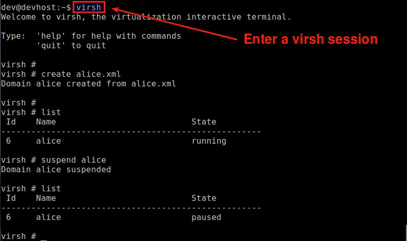 How to use KVM from the command line on Debian or Ubuntu