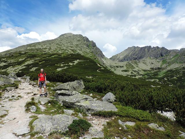 Hiking Krivan, High Tatras, Slovakia
