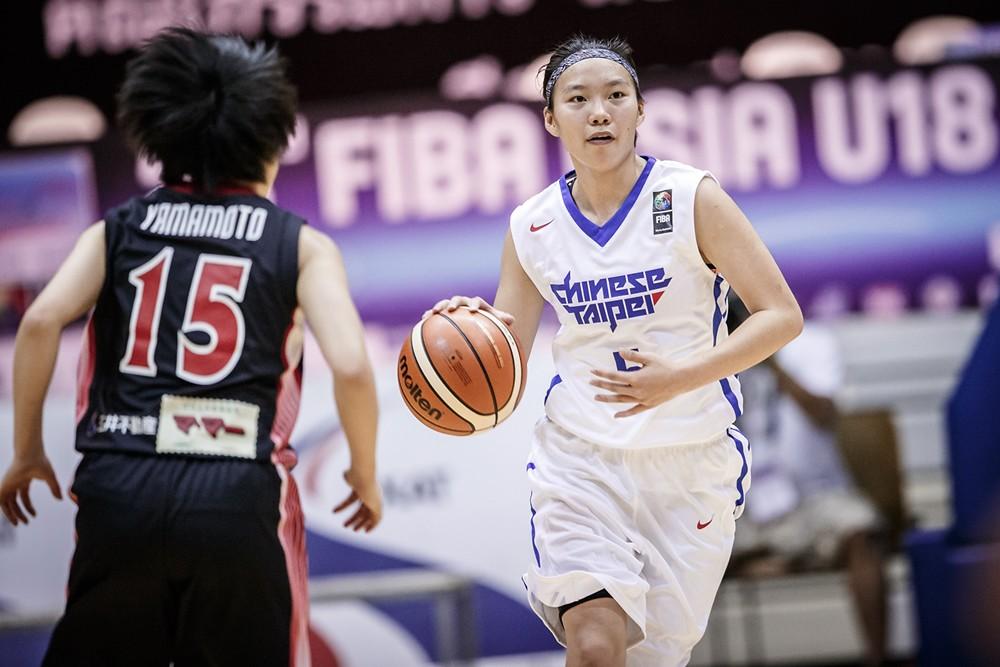 中華隊隊長彭曉彤。(FIBA官網提供)
