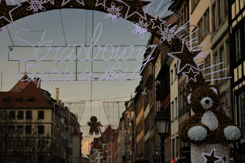 Estrasburgo en Navidad