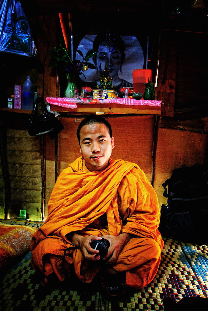 Venerable Burmese Monk In Thailand