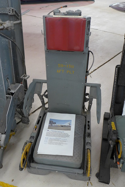 Ejection seat of Convair F-106B