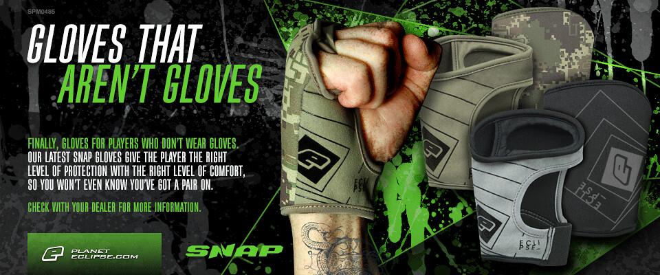 Eclipse Snap Gloves - Gloves That Aren't Gloves?