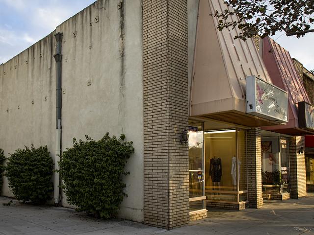Original El Teatro building in Downey