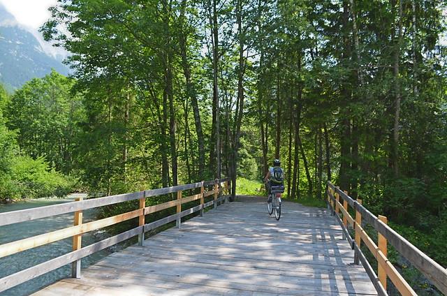 Cycling, Leutasch Valley