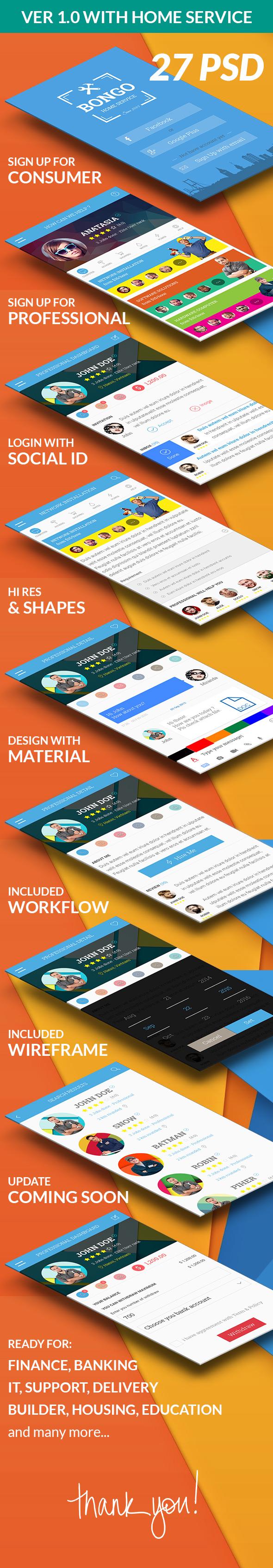Bongo - Bongo Tasks Service App