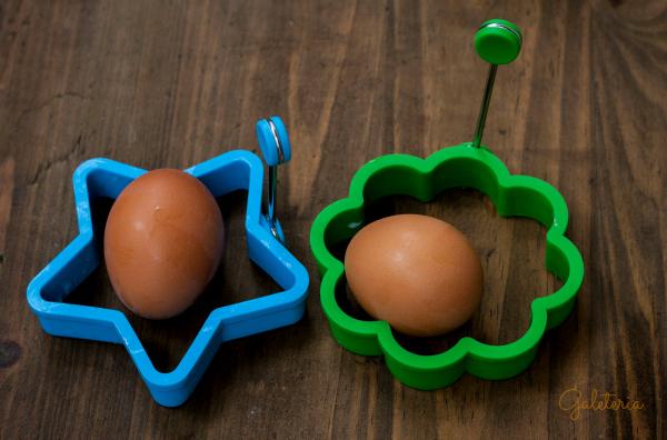 moldes para huevos con formas