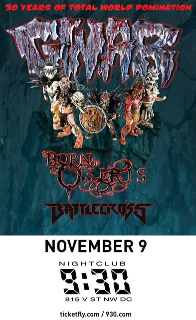 Gwar at the 9:30 Club