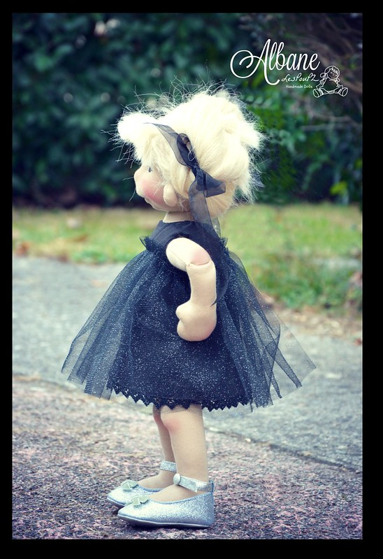 Albane, a Natural Fiber Art Doll by LesPouPZ