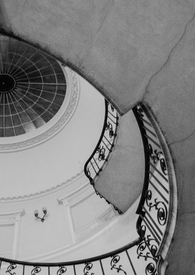 stairwell in somerset house