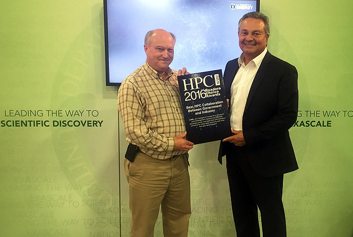 Los Alamos honored for industry collaboration in 2016 HPCwire Awards