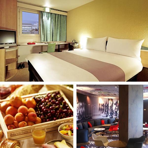 Hotel Ibis, probablemente el hotel lowcost en París mejor valorado