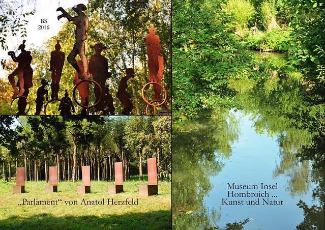 Museum Insel Hombroich bei Neuss ... Professor Anatol Herzfeld ... Schüler von Josef Beuys - Das Parlament ... Fotos und Collagen: Brigitte Stolle 2016
