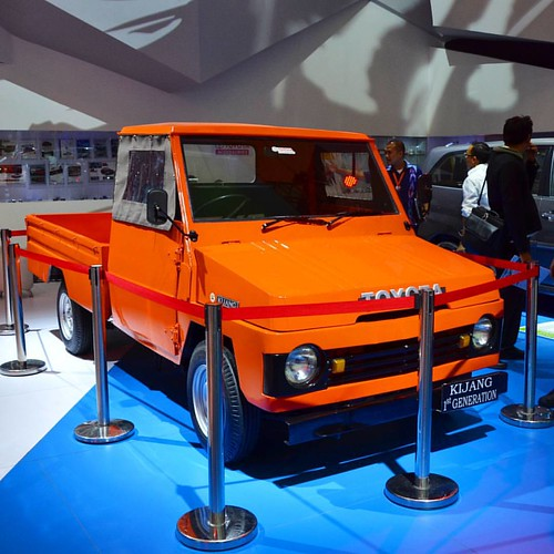 Toyota Kijang 1st Generation #giias2015 #gaikindo #icebsd #exhibition #toyota #kijang #autoshow2015 #otomotif #gaikindoindonesiainternationalautoshow2015