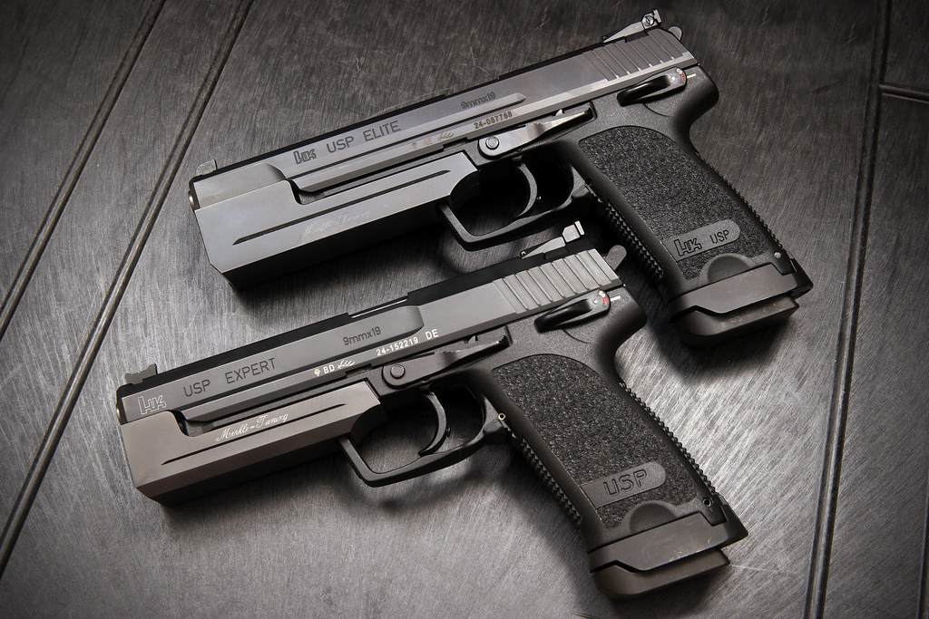 Hk Usp Elite And Expert 9mm With Merkle Tuning Weights