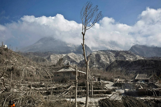 Mount Merapi Ghost Town