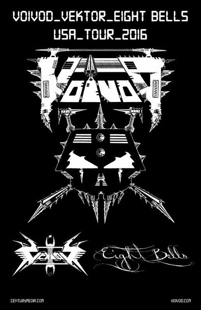 Voivod at the Black Cat