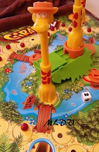 jeu de société Giraf'fun chapeau