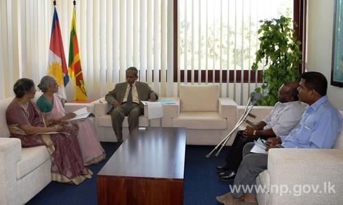 Representatives of JJCDR meet Governor
