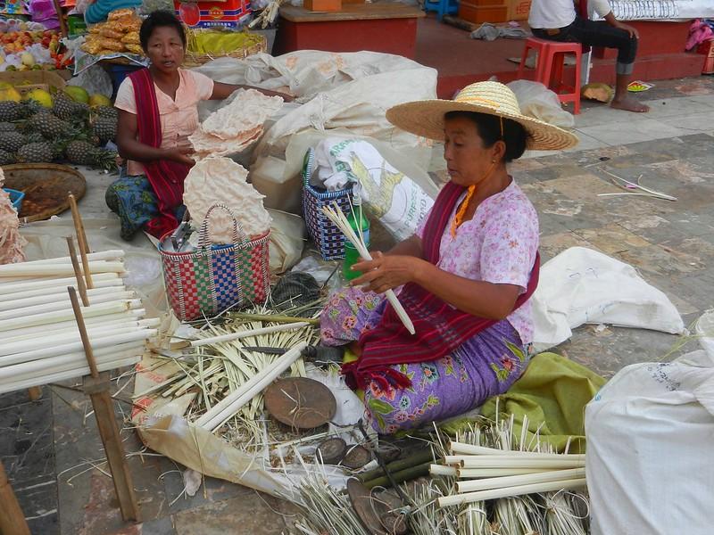 Еда, Бирма