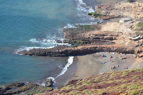 Nudist beach, el Medano, El Medano, Tenerife