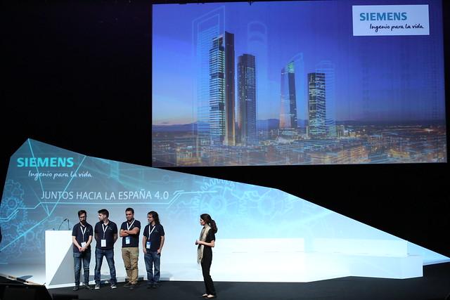 Siemens Days | Ingenio para la Vida. Juntos hacia la Espa�a 4.0 (Start-Up Sessions)
