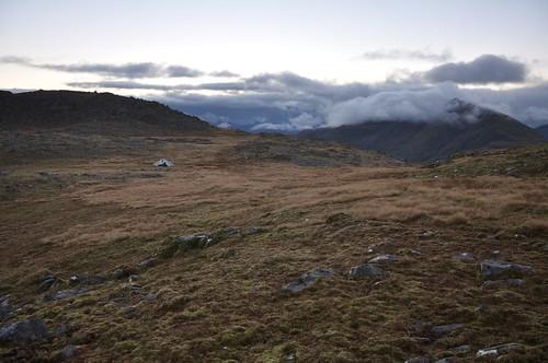 Camp on Beinn na Caillich