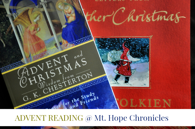 Advent Reading @ Mt. Hope Chronicles