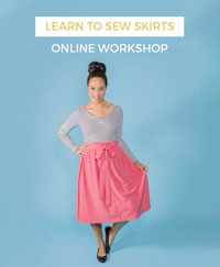 Learn to Sew Skirts online workshop