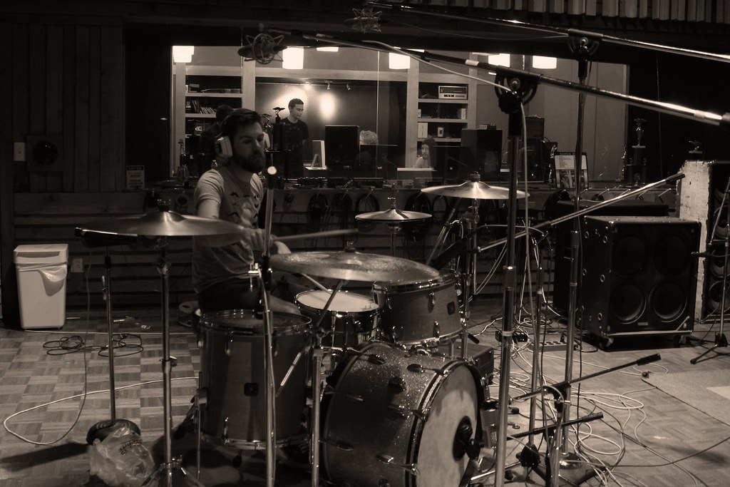 Recording drums I