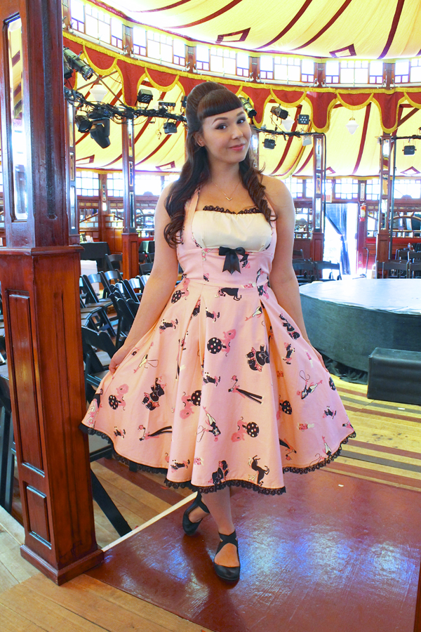 pinup girl clothing circus dress