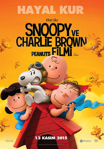 Snoopy ve Charlie Brown Peanuts Filmi - The Peanuts Movie (2015)
