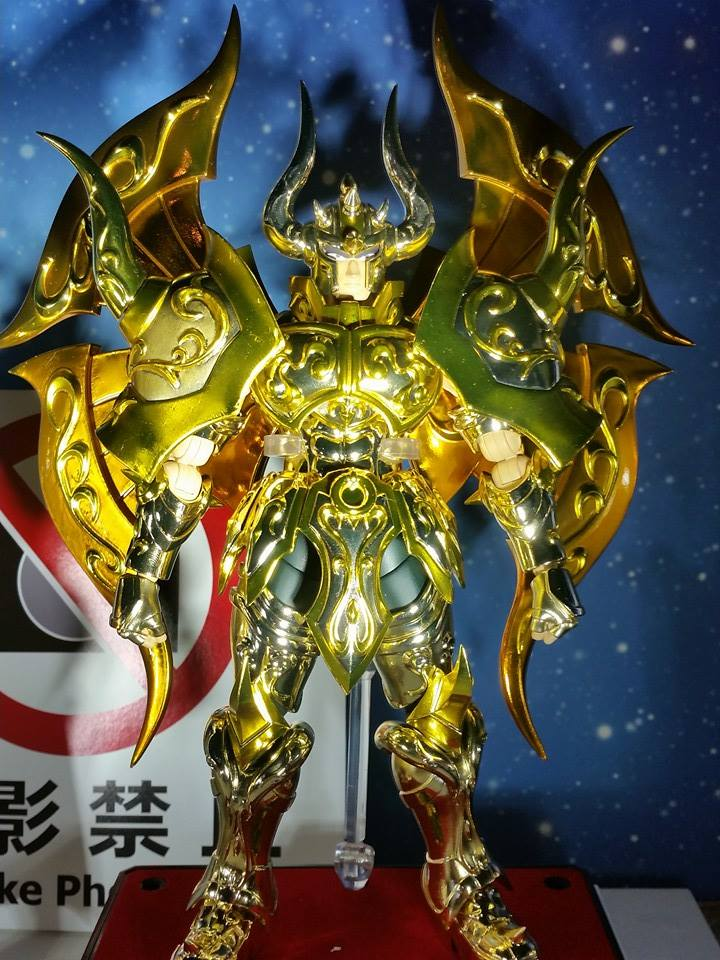 Myth Cloth EX Taurus Aldebaran God Cloth (Soul of Gold)