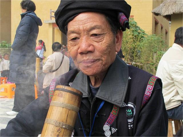 哈尼族婦女。圖片提供:王清華。