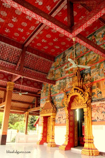 Wat Phonxay Sanasongkham Luang Prabang Laos