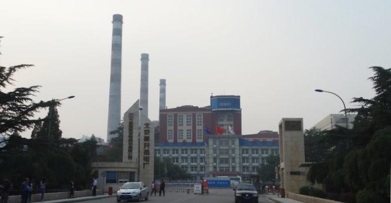 高井熱電廠的燃煤機組完全關閉,改用天然氣發電。攝影:吳慧君