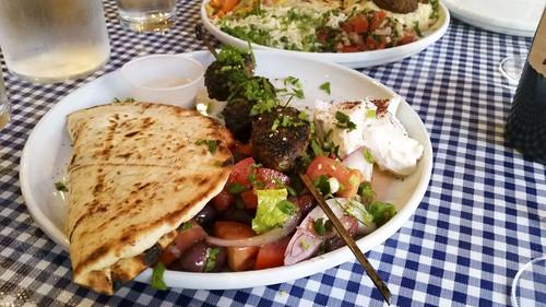 kofta kebab at Kanella Grill