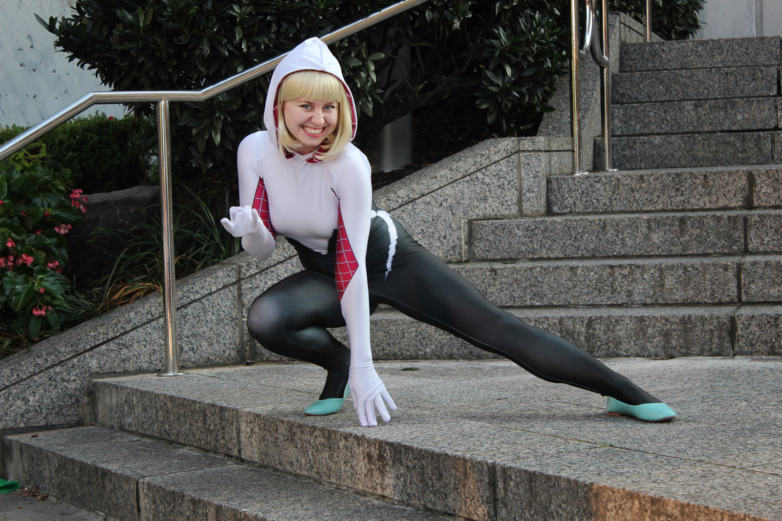 Spider-Gwen Cosplay Dragon Con 2016