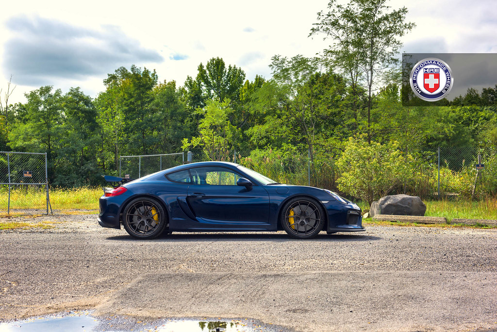 Hre Wheels Porsche Cayman Gt4 With Hre P101 Wheels In